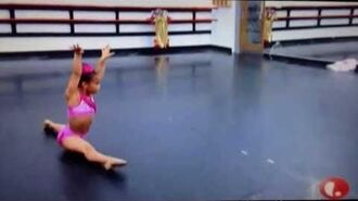 Dance moms rehearsal, Asia solo