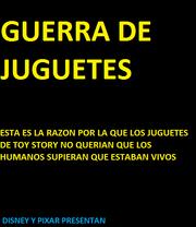 GUERRA DE JUGUETES POSTER 1