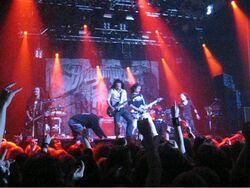 DragonForce @ Finnish Metal Expo 1