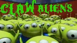 Claw aliens