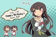 Hiyori birthday message
