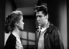 King Creole 1958 (Elvis Presley and Dolores Hart)