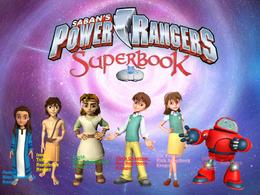 Power Rangers Superbook