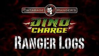 "Database Ranger's Dino Charge Ranger Logs DC01 ""Powers from the Past"""