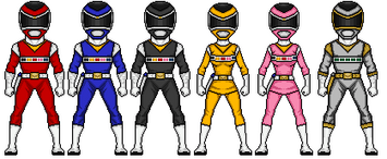 Megaranger by omniferis-d53isgc