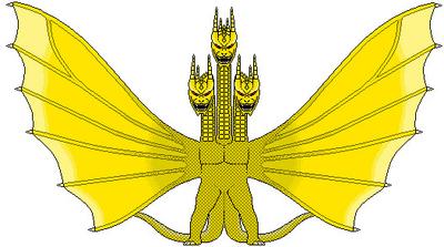 King Ghidorah heisei Tyzilla33191