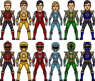 Power rangers ninjastorm movie armor by shepard137-d584vhq