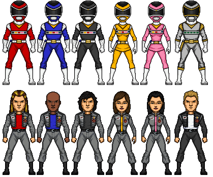 Power rangers in space by omniferis-d479lml