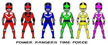 PowerRangersTimeForce