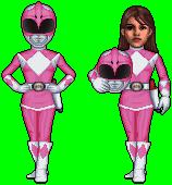 Abel MMPR Pink Kimberly 1101