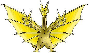 King Ghidorah shinsei Tyzilla33191