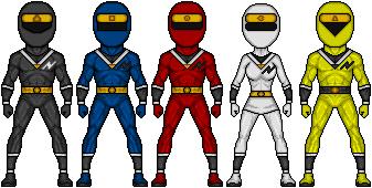 Mighty morphin alien rangers by ztyran-d7yh9rl