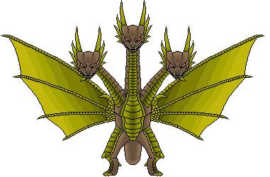 Cretaceous King Ghidorah heisei Tyzilla33191