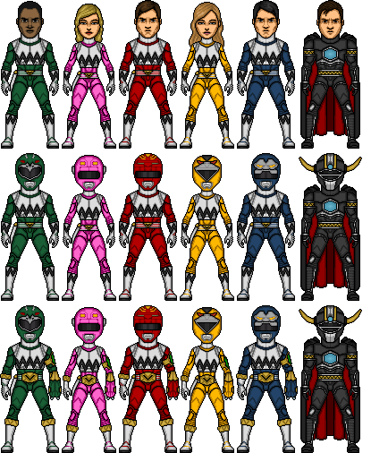 Power rangers lost galaxy movie armor by shepard137-d584ad8