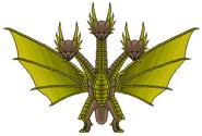 23 King Ghidorah