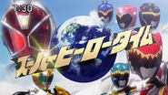 WizardKyoryuger Superhero time