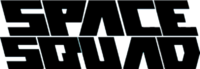 Space Squad Logo (black)