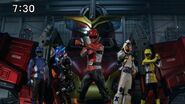 Super Hero Time - Fourze & Go-Busters