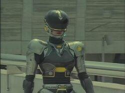 Lady Battle Cop Herself