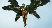 02.⑤-2迦樓羅戰士神鷹X究極黑暗形態(Satria Garuda Bima-X Ultimate Dark Mode)