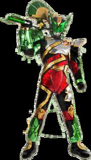02.③迦樓羅戰士神鷹X大地形態(Satria Garuda Bima-X Earth Mode)