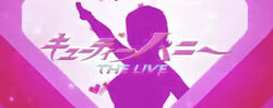 Cutie Honey the Live title