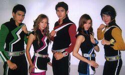 Sport Ranger season 2 team