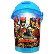 Toei Hero World caramel popcorn cup