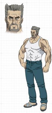 Diseño de Rindo - Anime