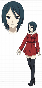 Diseño de Minami - Anime
