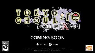TOKYO GHOUL re CALL to EXIST - Announcement Trailer PS4, PC-0