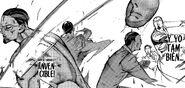 Matsuri combate a V y a los payasos