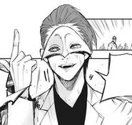 Segunda mascara de Tsukiyama