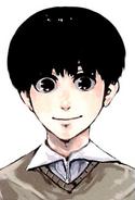 Perfil de Kaneki en el Volumen 1