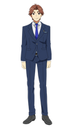 Seidou Takizawa anime