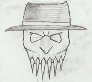 The Hangman Mask Sketch
