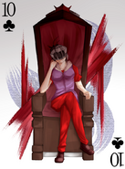 Ayano Ten of Clubs