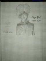 Kaneki Ken szkic