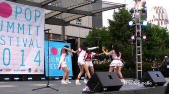 Tokyo Girls' Style - Himawari to Hoshikuzu (English Version) @ Jpop Summit Festival 2014