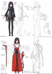 Natsume Miko and Male Uniform Design
