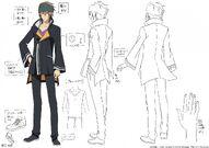 Touji Male Uniform Design