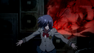 Touka about to fight Kaneki