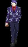 Tsukiyama anime design front view