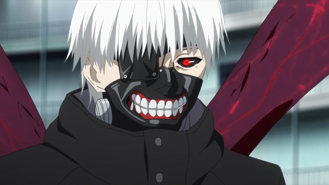 канеки из аниме токийский гуль картинки