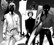 Urie e Shirazu fanno irruzione in camera di Saiko