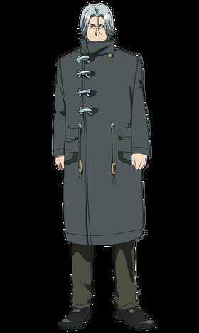 Yomo anime design front view