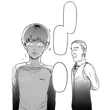 Yoshimura dice a Kaneki che appartiene a entrambi i mondi