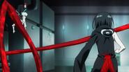 Kuro tries to hit Juuzou anime