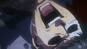 Amon crying over the death of Kureo