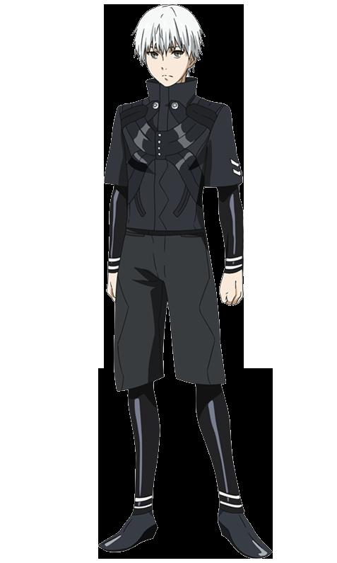 Kuca Kaneki_Root_A_anime_design_front_view